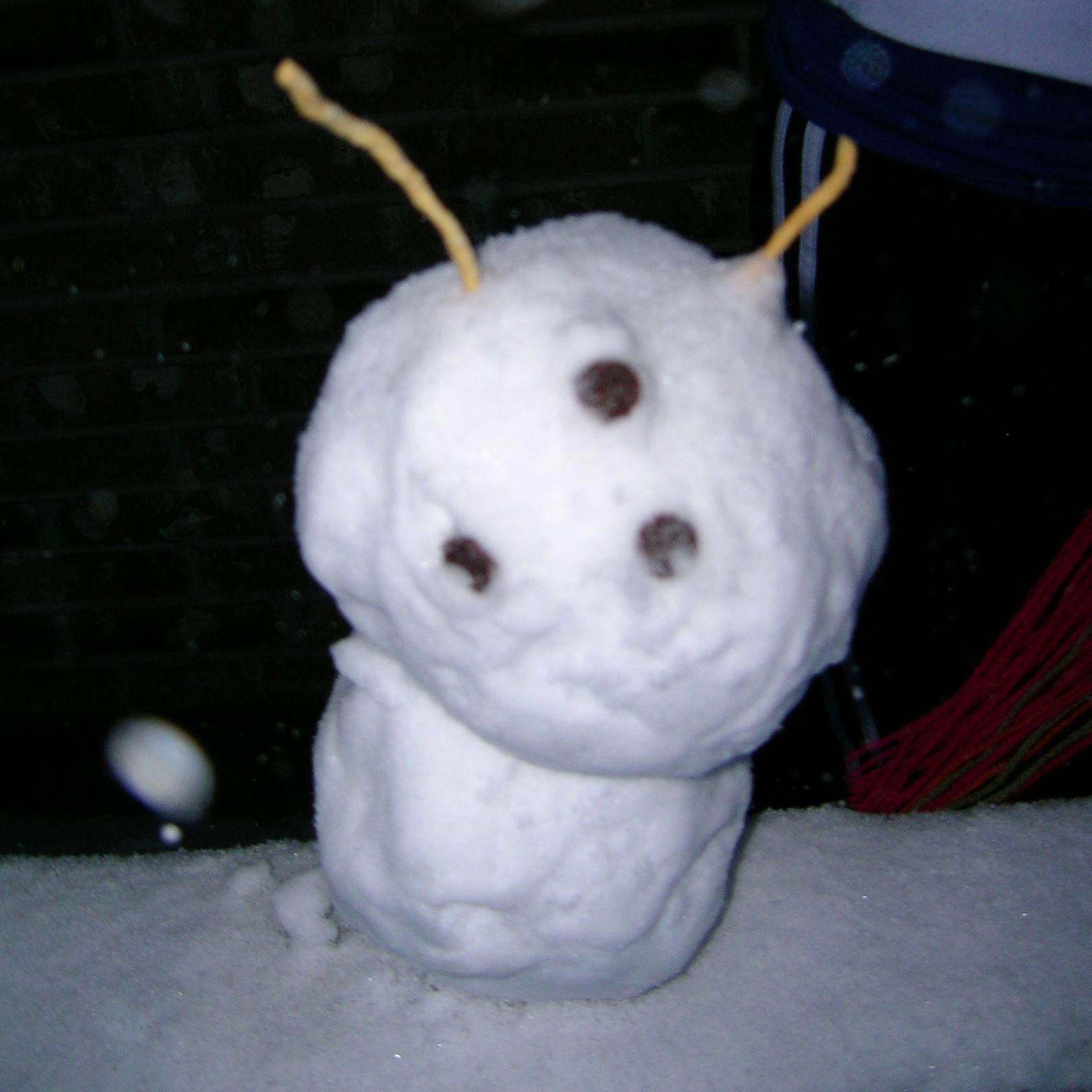 Miniature Snow Goon