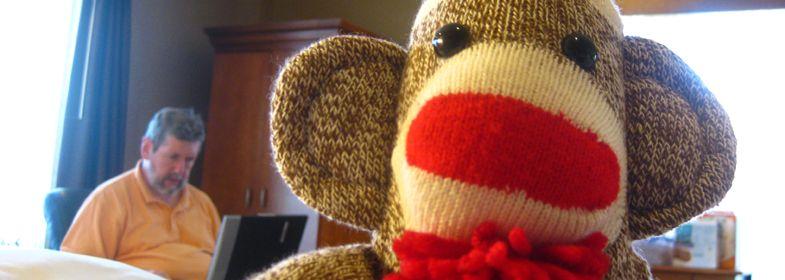 Fancy Sock Monkey